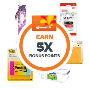 5x Points on Selected Stationery lunch Boxes, Drink Bottles & Cooler Bags