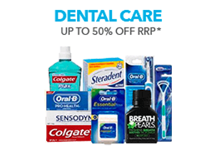 Up to 50% off Dental Care