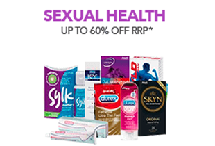 Up to 60% off Sexual Care